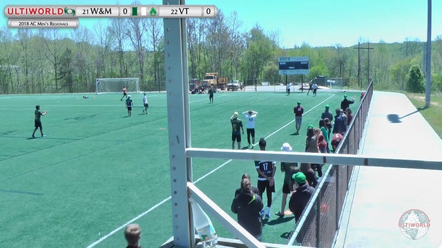 AC: #21 William & Mary v #22 Virginia Tech (M G2G)