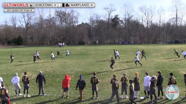 2017 Queen City Tune Up - Georgetown v. Maryland (M Pool Play)