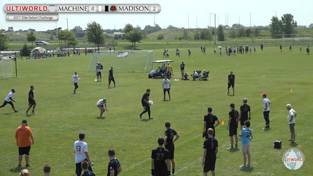 Elite-Select Challenge 2017: Machine v. Madison Club (M Pool)