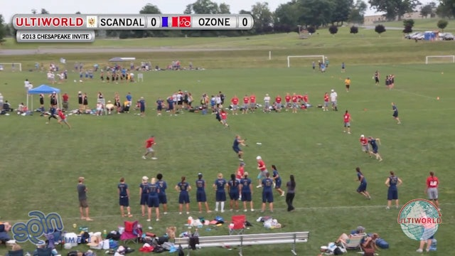 Ozone vs. Scandal | Women's Pool Play | Chesapeake Open 2013