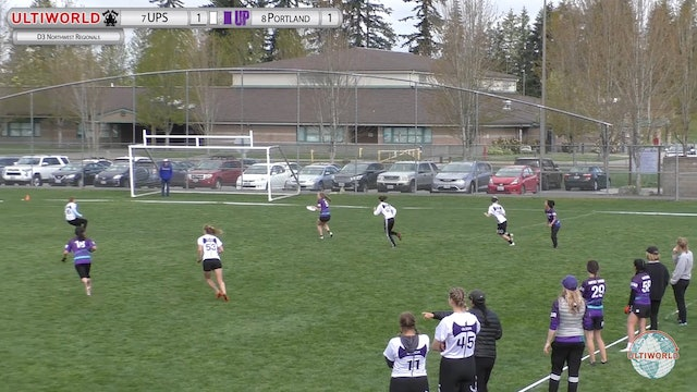 D3 NW Conferences 2019: #7 Puget Sound vs #8 Portland (W Final)