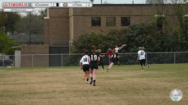 Women's Centex 2019: #9 Colorado vs #...