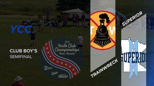 Oregon Trainwreck vs. Minnesota Superior | Boy's Semifinal