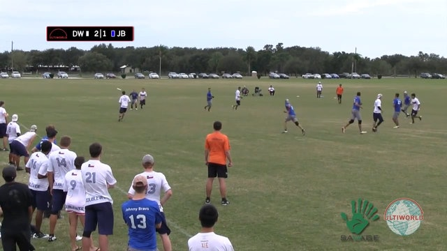 Club Nationals 2012: Doublewide vs Johnny Bravo (M)