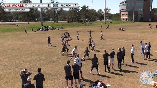 Florida Warm Up 2015: Texas A&M v Florida (M)