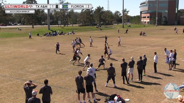Florida Warm Up 2015: Texas A&M v Flo...