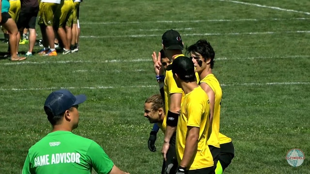 WUCC 2018: Warao (VEN) v. Comunidad El Oso (COL) [Men's Cross Over]