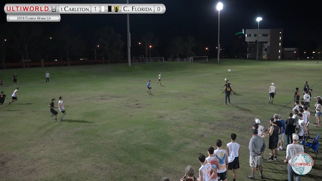 Florida Warm Up 2018: #1 Carleton v UCF (M Pool)