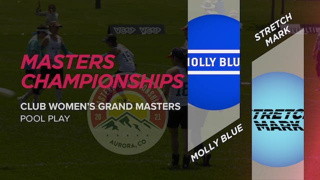 Molly Blue vs. Stretch Mark | Women's Grand Masters Pool Play