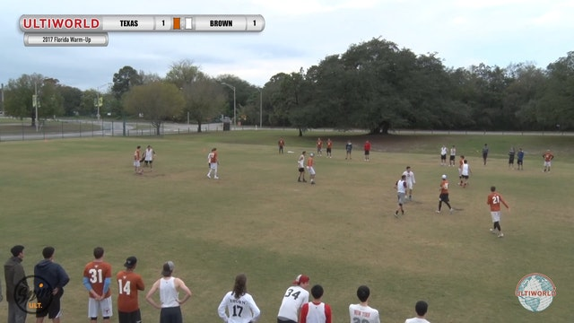 2017 Florida Warm Up: Texas v Brown (Pool) presented by Spin Ultimate