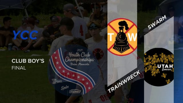 Utah Swarm vs. Oregon Trainwreck | Boy's Final