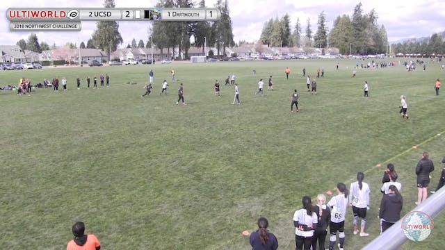 Dartmouth vs. UCSD | Women's Final | ...