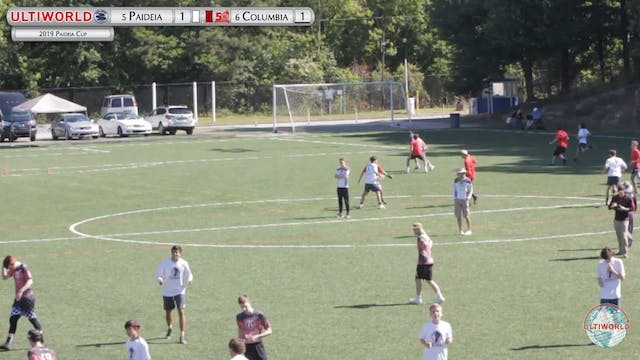 Paideia Cup 2019: #6 Columbia [NJ] vs...