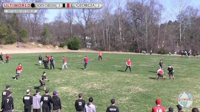 2017 Queen City Tune Up - UNC v. Georgia (M Final)