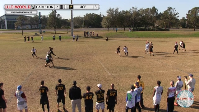 Carleton vs. Central Florida | Men's Quarterfinal | Florida Warm Up 2015