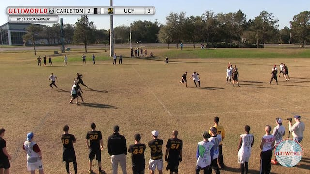 Florida Warm Up 2015: Carleton v Cent...