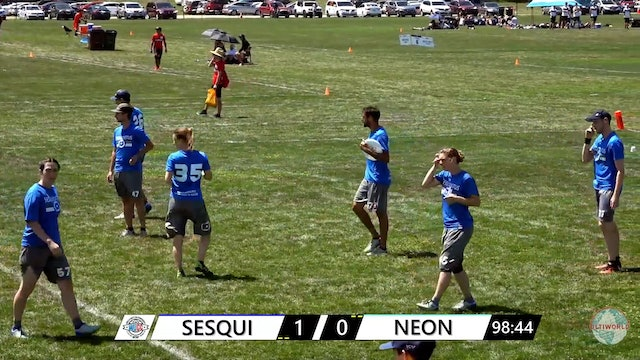 WUCC 2018: Sesquidistus (FRA) v. Neon (HKG) [Mixed Cross Over]
