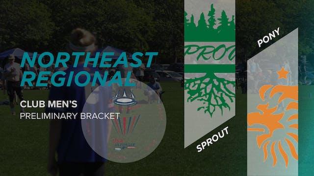 PoNY vs. Sprout | Men's Preliminary Bracket