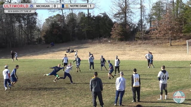 Queen City Tune Up 2018: Michigan v Notre Dame (M Pool)