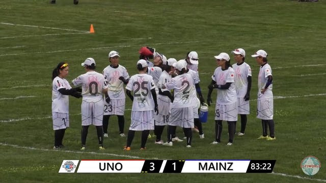 WUCC 2018 - UNO (JPN) v. Mainzelmadch...