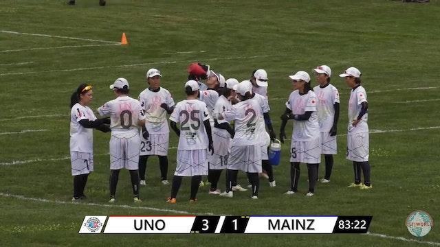 WUCC 2018 - UNO (JPN) v. Mainzelmadchen (GER)