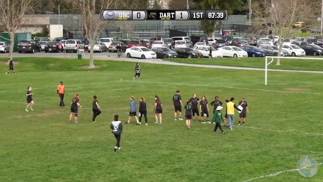 British Columbia vs. Dartmouth | Wome...