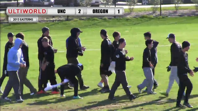 Easterns 2015: UNC v. Oregon (M Quarterfinal)