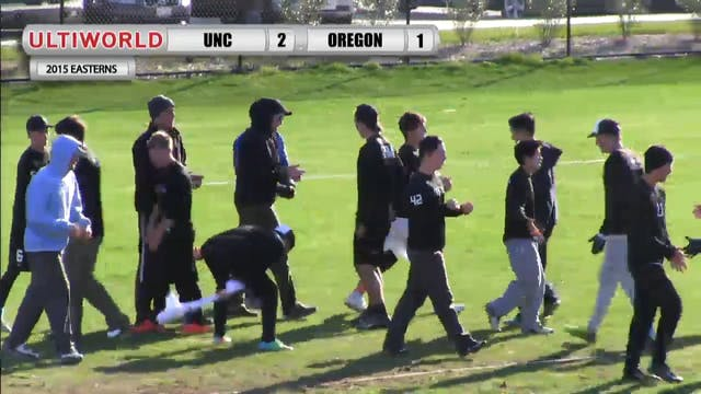 Easterns 2015: UNC v. Oregon (M Quart...
