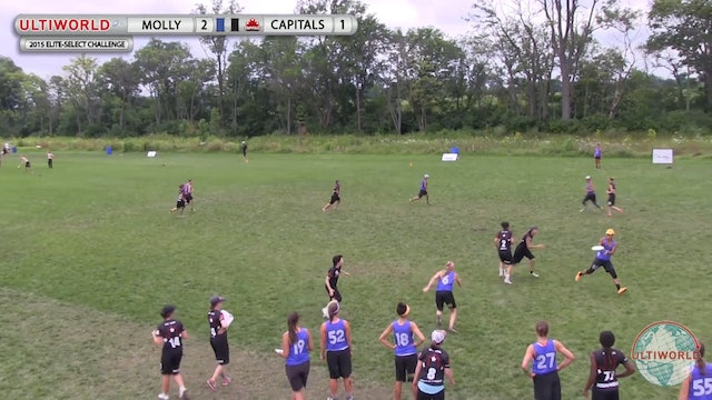 Elite-Select Challenge 2015: Molly Brown v Capitals (W Final)
