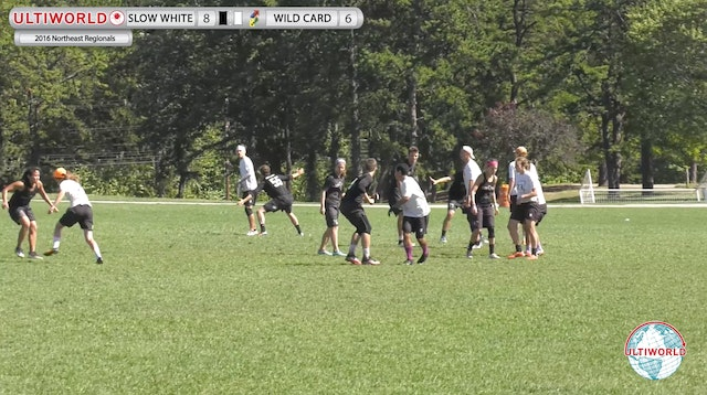 2016 Northeast Regionals: Slow White v. Wild Card (Game to Go)