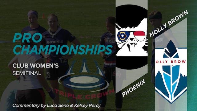 Phoenix vs. Molly Brown | Women's Sem...