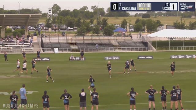 North Carolina vs. UCSB | Women's Qua...