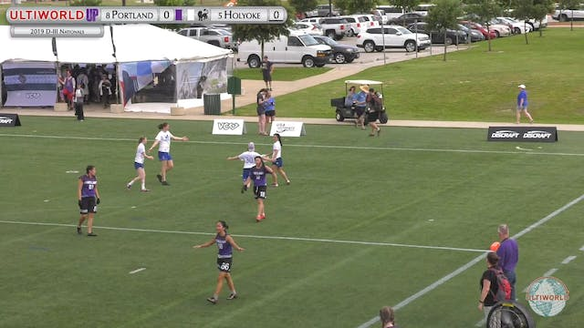 Portland vs Mount Holyoke | Women's P...