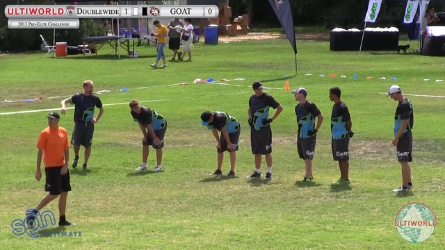GOAT vs. Doublewide | Men's Final | Pro Flight Finale 2013