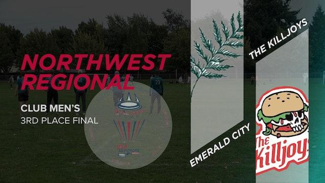 The Killjoys vs. Emerald City | Men's 3rd Place Final