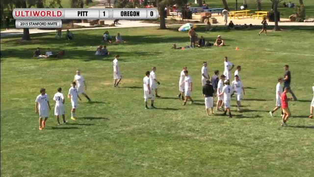 Stanford Invite 2015: Pitt v Oregon (...