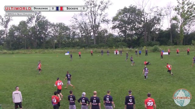 Sockeye vs. Doublewide | Men's Quarte...