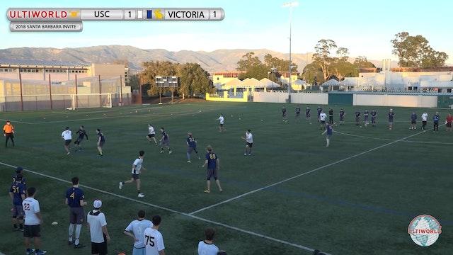 Santa Barbara Invite 2018: USC v Victoria (M Pool)