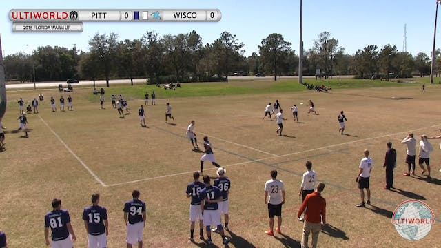 Florida Warm Up 2015: Pittsburgh v Wi...