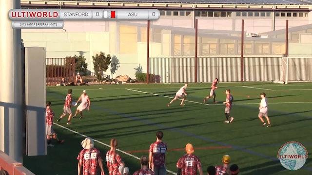 Santa Barbara Invite 2015: Arizona State v Stanford (M Pool)