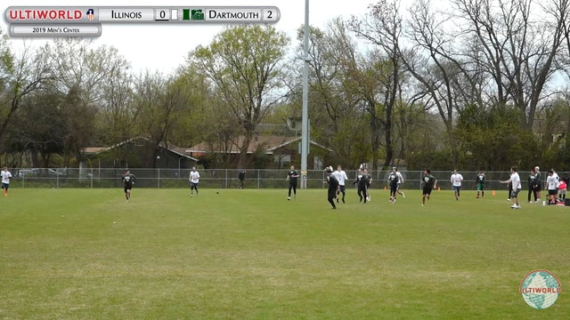 Men's Centex 2019: Illinois vs Dartmouth (M Pre-Quarter)