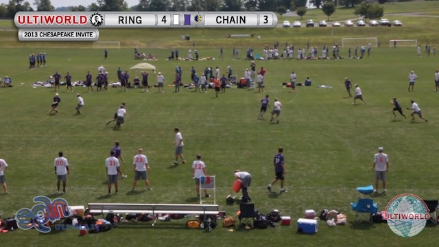Chain Lightning vs. Ring of Fire | Men's Pool Play | Chesapeake Open 2013