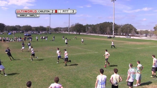 Carleton vs. Pittsburgh | Men's Match Play | Florida Warm Up 2013