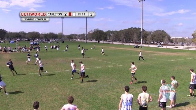 Florida Warm Up 2013: Carleton vs Pittsburgh (M)