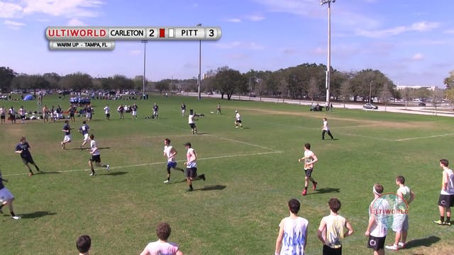 Carleton vs. Pittsburgh | Men's Match...