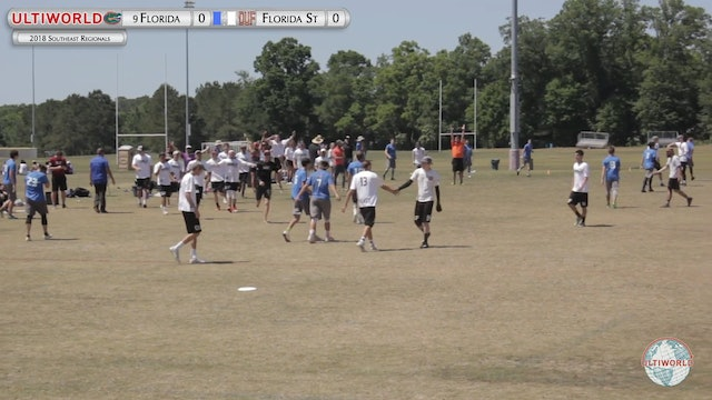 Florida vs. Florida State | Men's 3rd Place Final | Southeast Regionals 2018