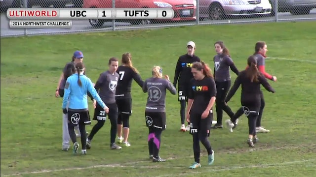Northwest Challenge 2014: British Columbia vs Tufts (W)