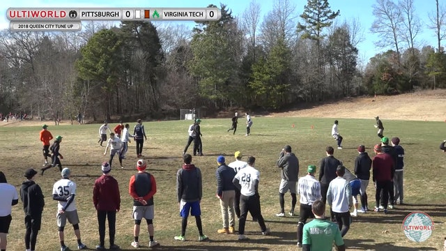 Queen City Tune Up 2018: Pittsburgh v Virginia Tech (M Pool)