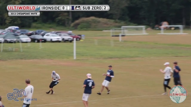 Chesapeake Open 2013: Ironside vs Sub Zero (M Final)