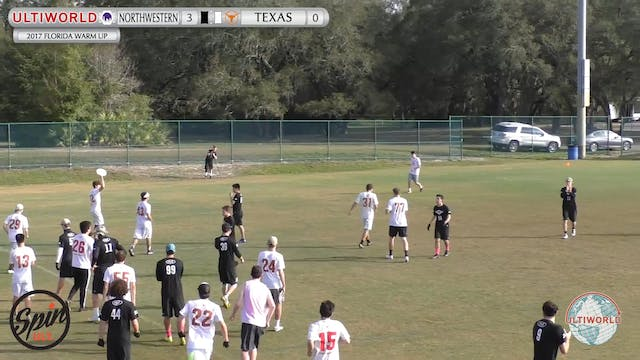 2017 Florida Warm Up - Northwestern v...